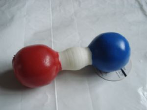 Blue & Red Dumbell